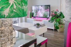 Home decoration in futuristic homes